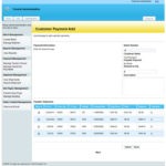 Customer payment management for shipments.