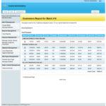 Customer payment reports.