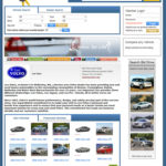Dealer's profile page. Dealers can manage the contents CMS.