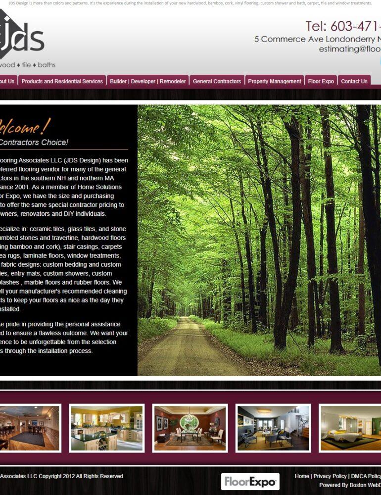 Jds Flooring Associates Llc Boston Web Design And Seo